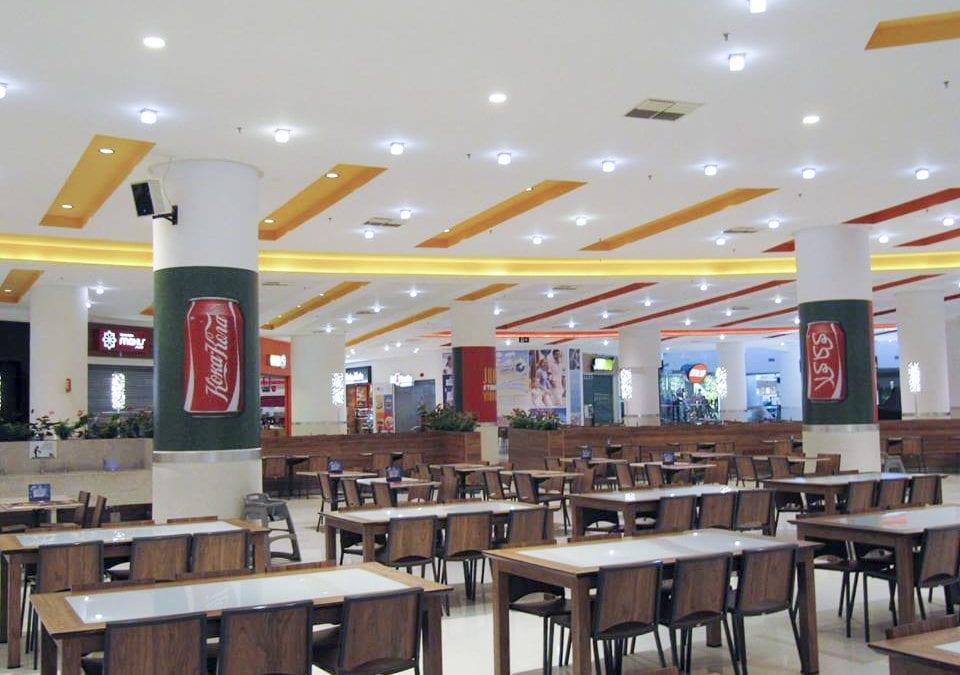 Coca-Cola – Colunas Praça de Alimentação